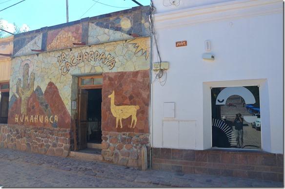 a2458 ein kleine Restaurant vor dem Öffnen für den Lunch