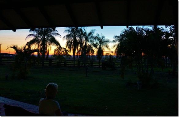 b2118 die Sonnenuntergänge sind wie in Afrrika = wunserschön