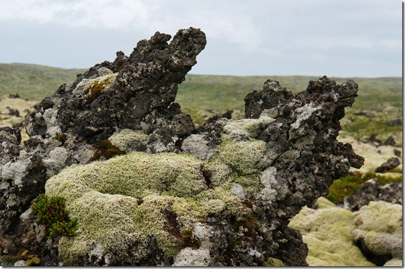 1731 bizarre Gebilde aus erkalteter Lava